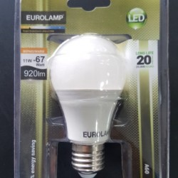 EUROLAMP LED ΛΑΜΠΑ 11 W E27 ΚΟΙΝΗ