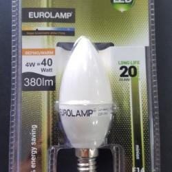 EUROLAMP LED ΜΙΝΙΟΝ 4W E14  SMD