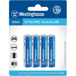 WESTINGHOUSE ΜΠΑΤΑΡΙΑ ΑΛΚΑΛ.4Τ.1.5V AAA