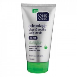 CLEAN&CLEAR 150ml FACE SCRUB